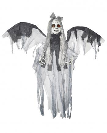 Horror Mädchen mit Flügeln Halloween Animatronic
