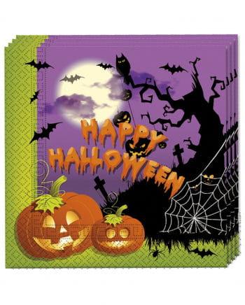 Spooky Halloween Servietten 20 St.
