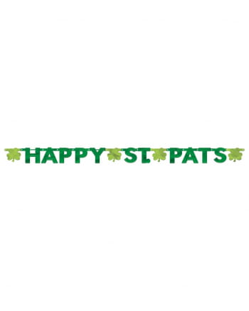 "Party-Girlande ""Happy St. Patricks Day"""