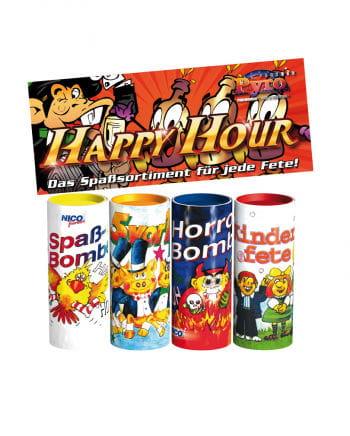 Happy Hour Tischbombe Set of 4