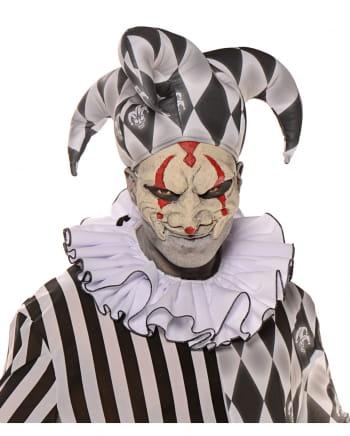 Clown Kragen weiß