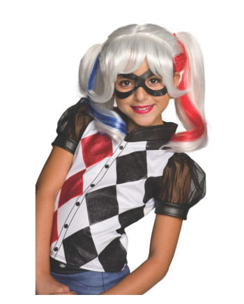 Harley Quinn Child Wig