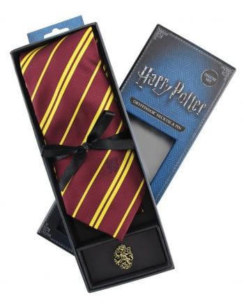Gryffindor Krawatte mit Pin - Harry Potter