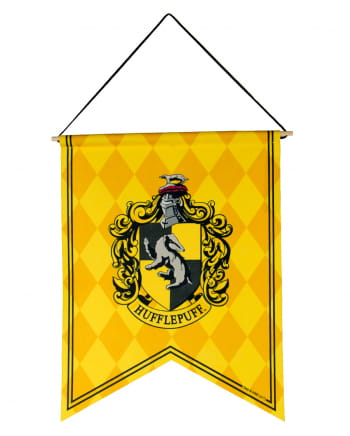 Harry Potter Hufflepuff coat of arms banner