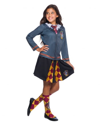 Harry Potter Kids Costume Shirt Gryffindor
