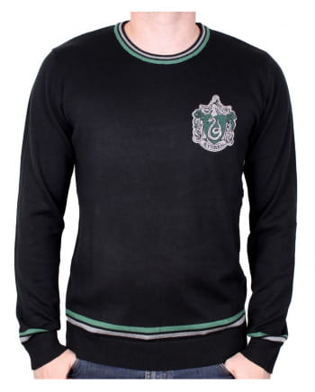 Harry Potter Slytherin Pullover Black