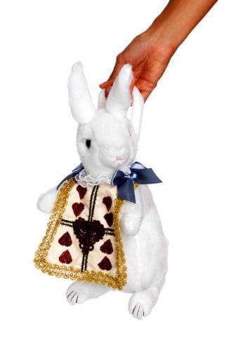 Weiße Kaninchen Handtasche
