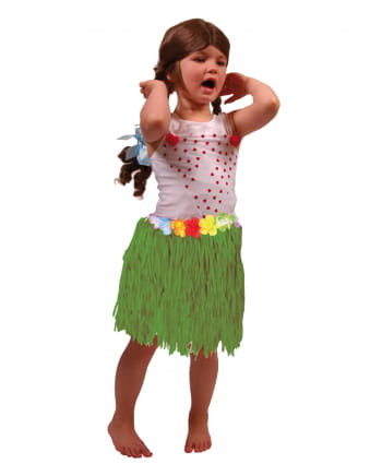 Hawaii Kids Skirt green