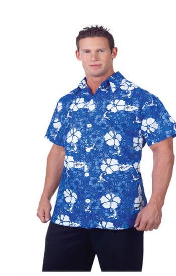 Blaues Hawaii Hemd Plus Size