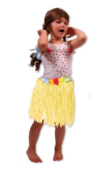 Kinder Hawaiirock gelb