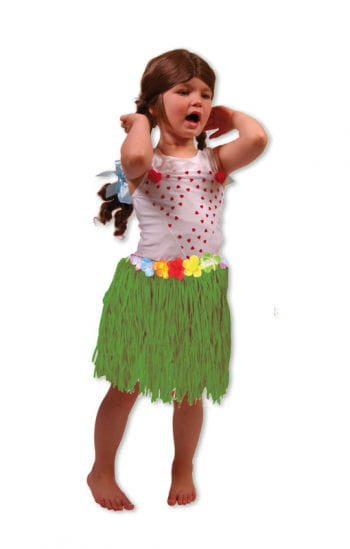 Hawaii Children's Skirt Green