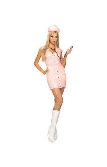 Sexy Schwesternkostüm pink