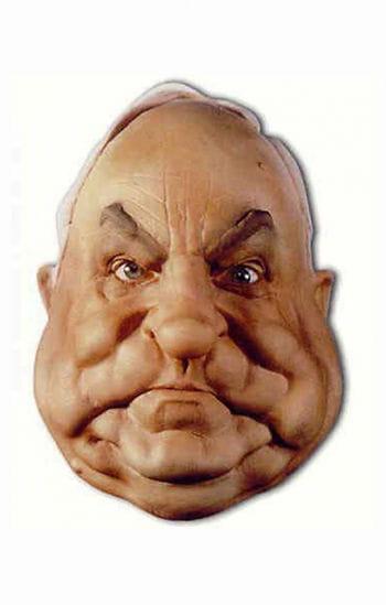 Helmut Kohl Foam Latex Mask