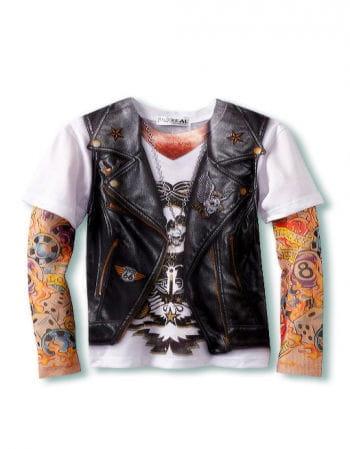 Herren Tattoo Shirt XL