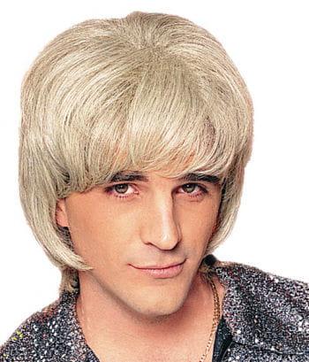 Herrenperücke Disco-Björn blond