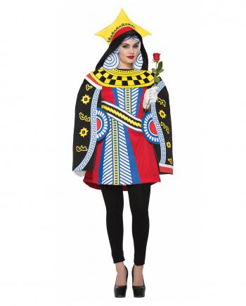 Herzkönigin Spielkarten Kostüm