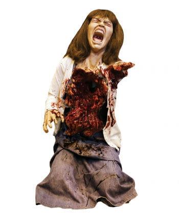 Herzlose Zombie Frau Dekofigur