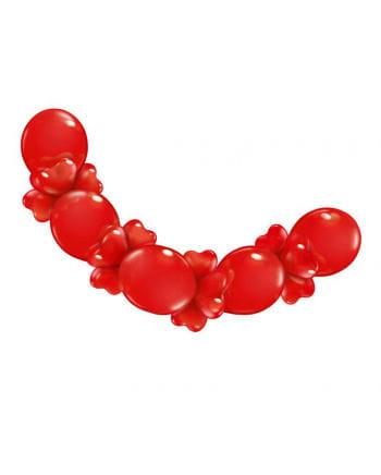 Girlande aus Herzballons
