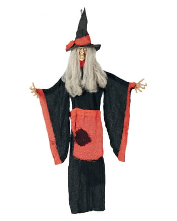 Witch Hanging Figure For Halloween Deco 100cm
