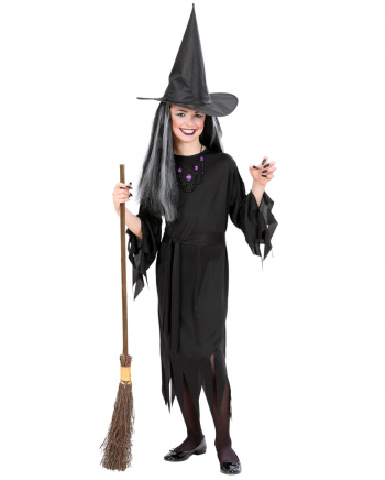 Witches Children Costume With Hat & Belt