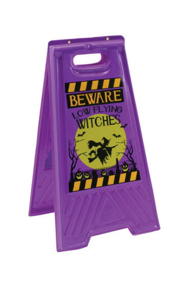 Witches Warning Floor stand