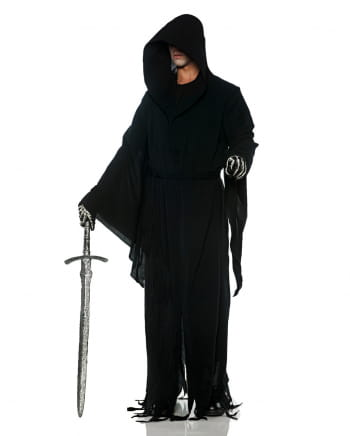 Hidden Reaper costume with scarf