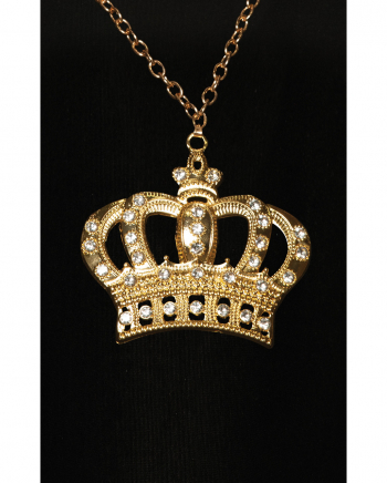 Rapper Goldkette mit Krone