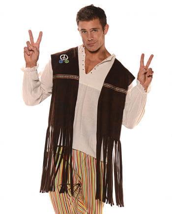 Hippie Weste mit Fransen