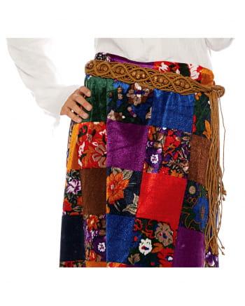 Hippie Costume Belt Brown