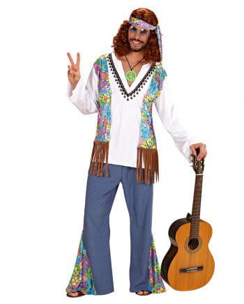 Hippie Männer Kostüm Gr. XL