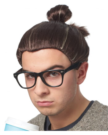 Hipster Top-Knot Perücke