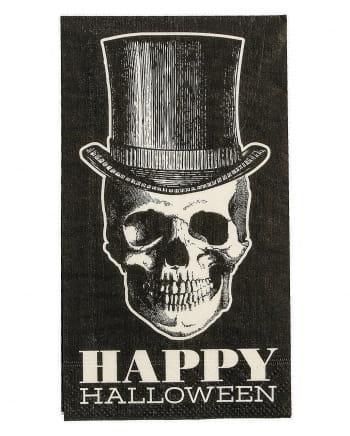 Hipster Skull Napkins 16 Pc.