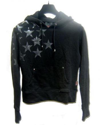 Hoodie mit Sternen Gr. M