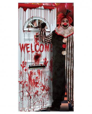 Horror Clown Door Foil