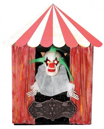 Killer Clown im Zirkus - Halloween Animatronic
