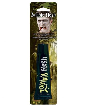 Zombie Flesh Halloween Make Up grau