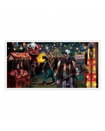 Schauriges Zirkus Banner