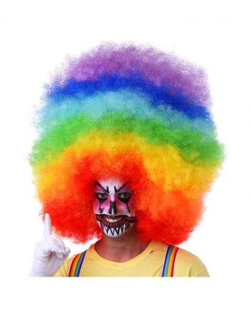 Afro Wig XXL Multicolor