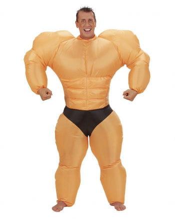 Aufblasbares Bodybuilder Kostüm