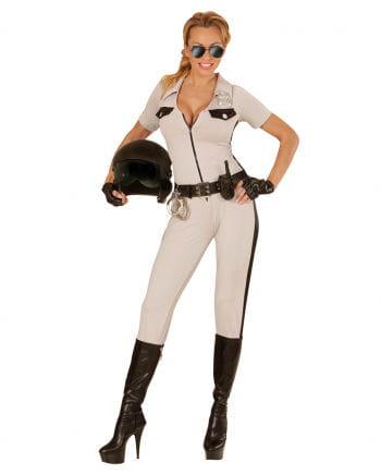 Kalifornische Polizistin Kostüm 3-tlg.