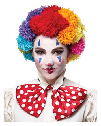 Colorful Clown Wool Wig