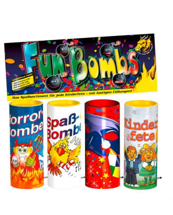 Tischfeuerwerk Fun Bombs 4er Set