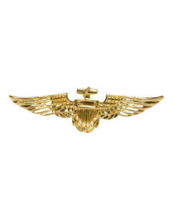 Goldglänzendes Pilotenabzeichen