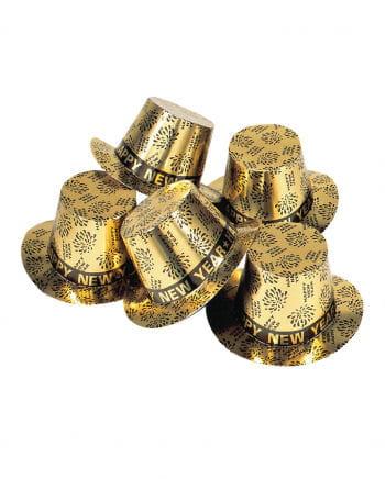 Happy New Year Cylinder Golden