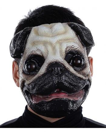 Pug dog mask plastic
