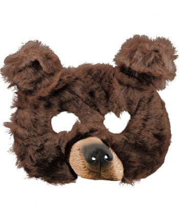 Bären Maske aus Plüsch