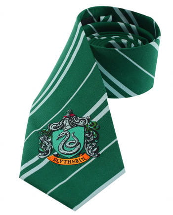 Harry Potter Slytherin Krawatte mit Hauswappen