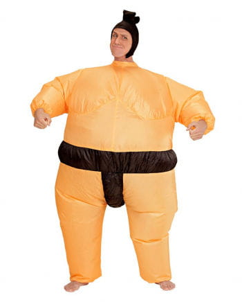 Sumo wrestler costume inflatable