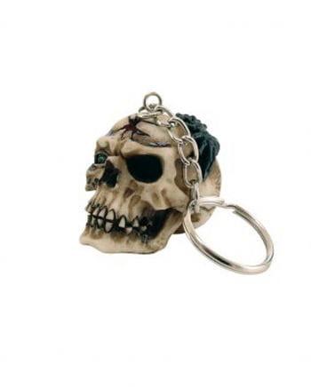 Skull & Crossbones Key Ring