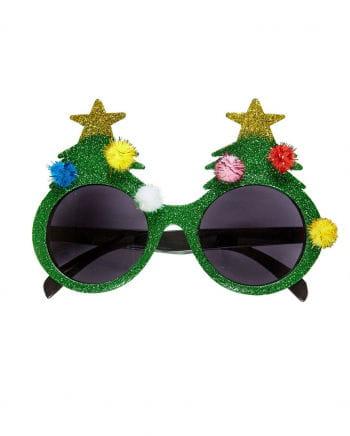 Brille Weihnachtsbaum